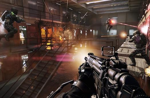 Advanced Warfare console comparison drops a few frames on PS4