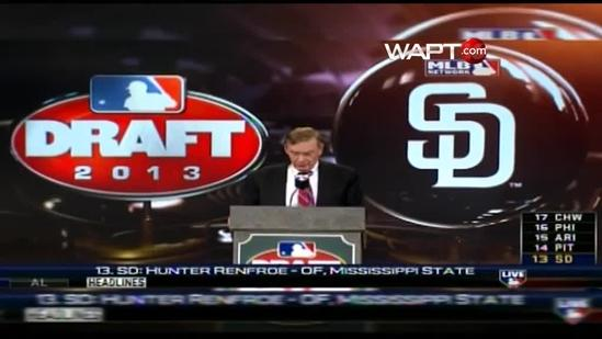 Hunter Renfroe drafted in 1st round by San Diego