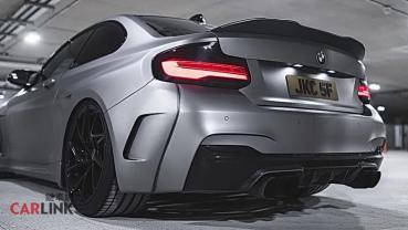 「網紅指數」爆表!BMWF22 M235i高質感「MH2 WB」寬體版
