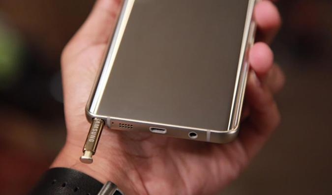 Don't stick your Samsung Galaxy Note 5 stylus in backwards