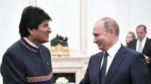 Vladímir Putin invita a Evo Morales a una visita oficial a Rusia en julio
