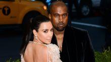 Kim Kardashian y Kanye West hacen vidas separadas: el catastrófico cierre de su año más convulso