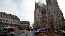 Man in custody after Nantes cathedral fire - French TV