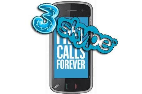 3 UK launches Nokia N97, Skype calling's a go