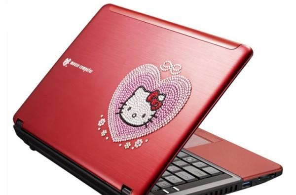 Mouse Computer's LuvBook S heals emotional scars, one Hello Kitty at a time