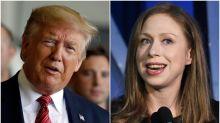 Call 911, Chelsea Clinton Just Burned Donald Trump Bad