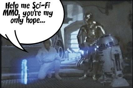 Sci-fi MMO, you're my only hope...
