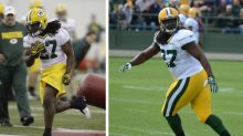 Packers rookie RB Eddie Lacy might have put on a few pounds in the offseason