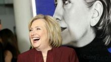 Hillary Clinton mocks James Comey after former FBI chief who torpedoed her campaign wears 'elect women' T-shirt