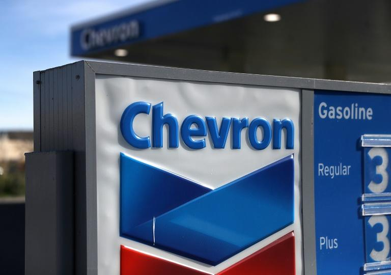 Chevron said it is preparing for prices to remain 'lower for longer' (AFP Photo/JUSTIN SULLIVAN)