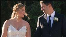 Amy Schumer planned her wedding in 4 days