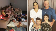 Family's selfless act for more than 60 people affected by floods