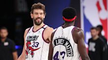 Toronto Raptors defeat Washington Wizards to clinch Eastern Conference No 2 seed
