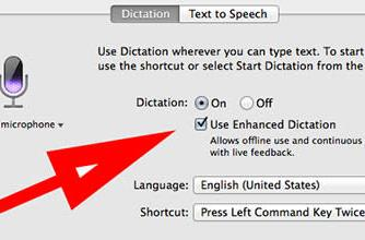 Apple adds internet-free dictation to Mavericks