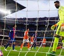 Here are all 16 goals scored Wednesday in La Liga wins by Barcelona and Real Madrid