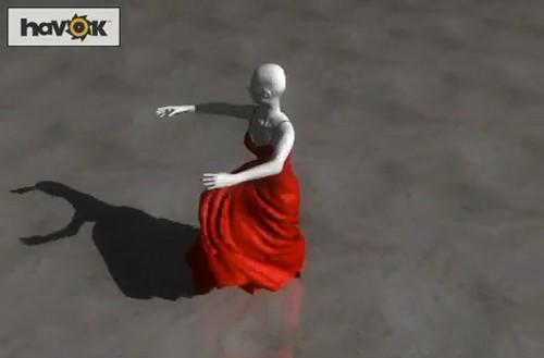 Havok and AMD show off OpenCL with pretty pretty dresses