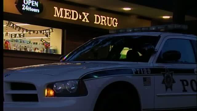 Facial-masked woman robs local drug store