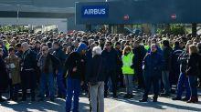Airbus : des milliers de manifestants en Espagne contre les suppressions de poste