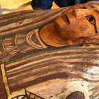 Unopened sarcophagi buried for 2,500 years unearthed from Egyptian tomb
