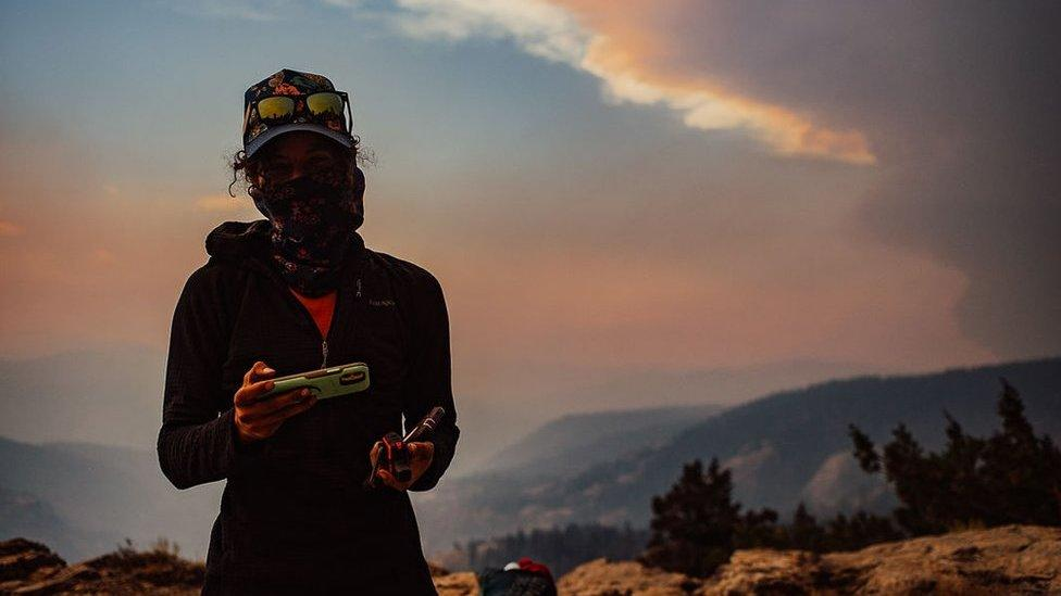 West Coast fires: How we outran a California wildfire