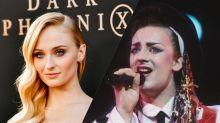 Sophie Turner 'so down' to play Boy George in biopic