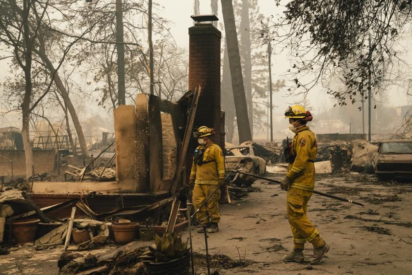 Homes burn because of embers, not trees. Fire policy ignores that