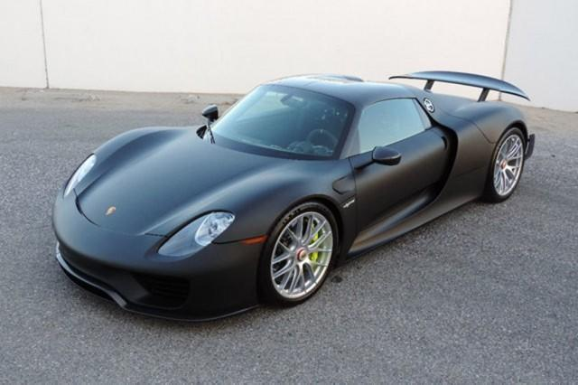 unpainted porsche 918 spyder up for sale. Black Bedroom Furniture Sets. Home Design Ideas