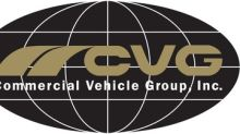 Commercial Vehicle Group Announces Participation In The U.S. Department Of Energy's Better Plants Initiative