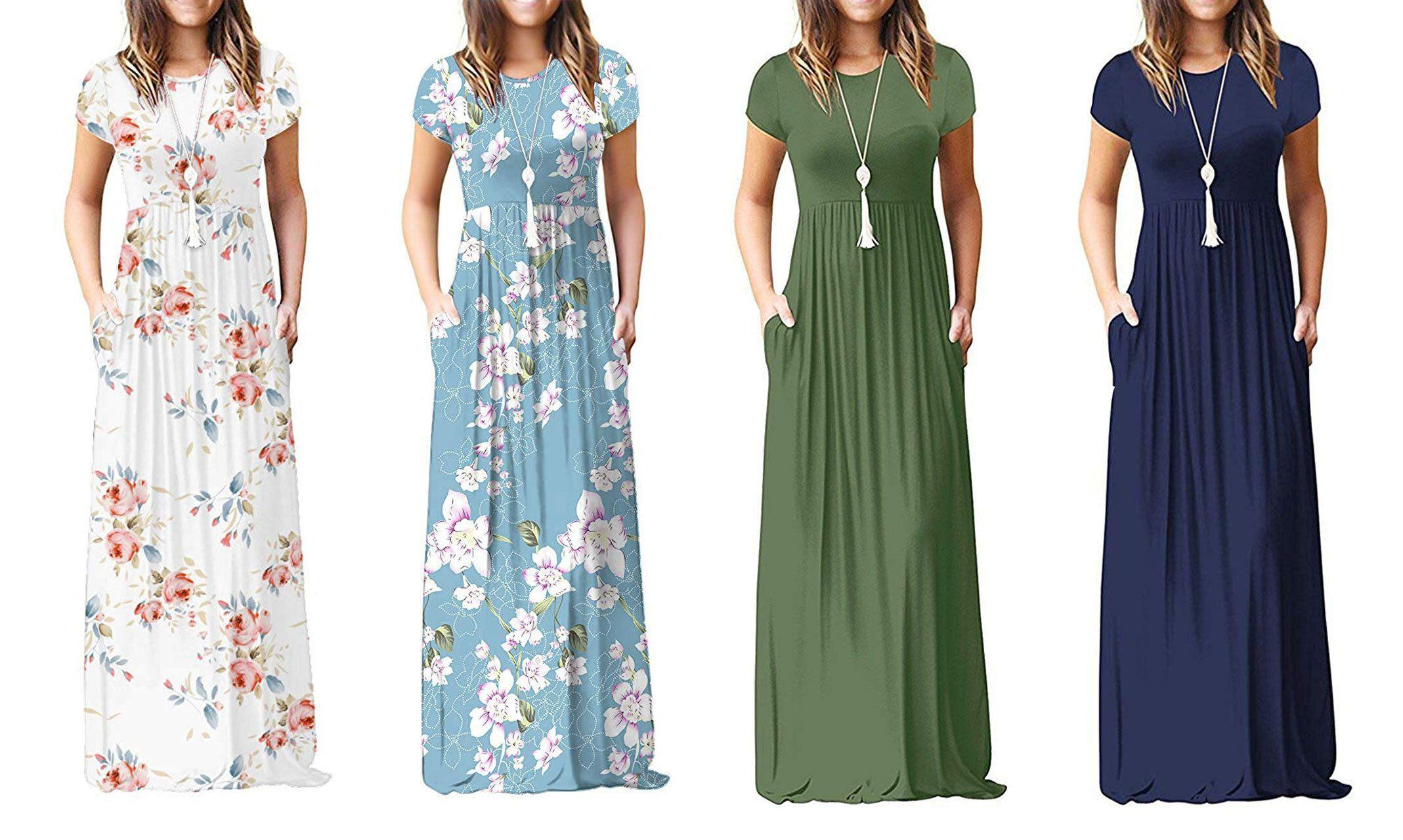Flash sale: Fall's most 'perfect' maxi dress 'feels like pajamas' is just $21 for a few more hours
