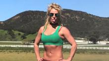 Britney Spears Shows Off Toned Physique in New Workout Video: 'There's Nothing Like Mommy and Workout Time'