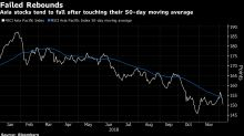 Asia Stock Slump Adds to $6.2 Trillion Wipeout as Year Runs Out