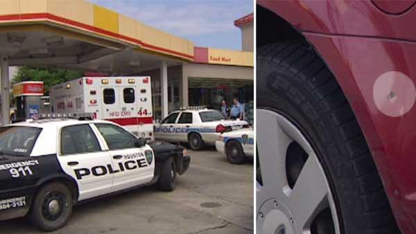 Woman shot at outside gas station in east Houston