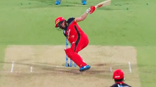 'What was that?': Cricket world erupts over impossible AB de Villiers six