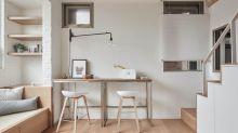這240呎蝸居巧妙改動了客廳設計,空間實用率立即提高30%!