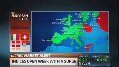 European markets close: Good day for Europe