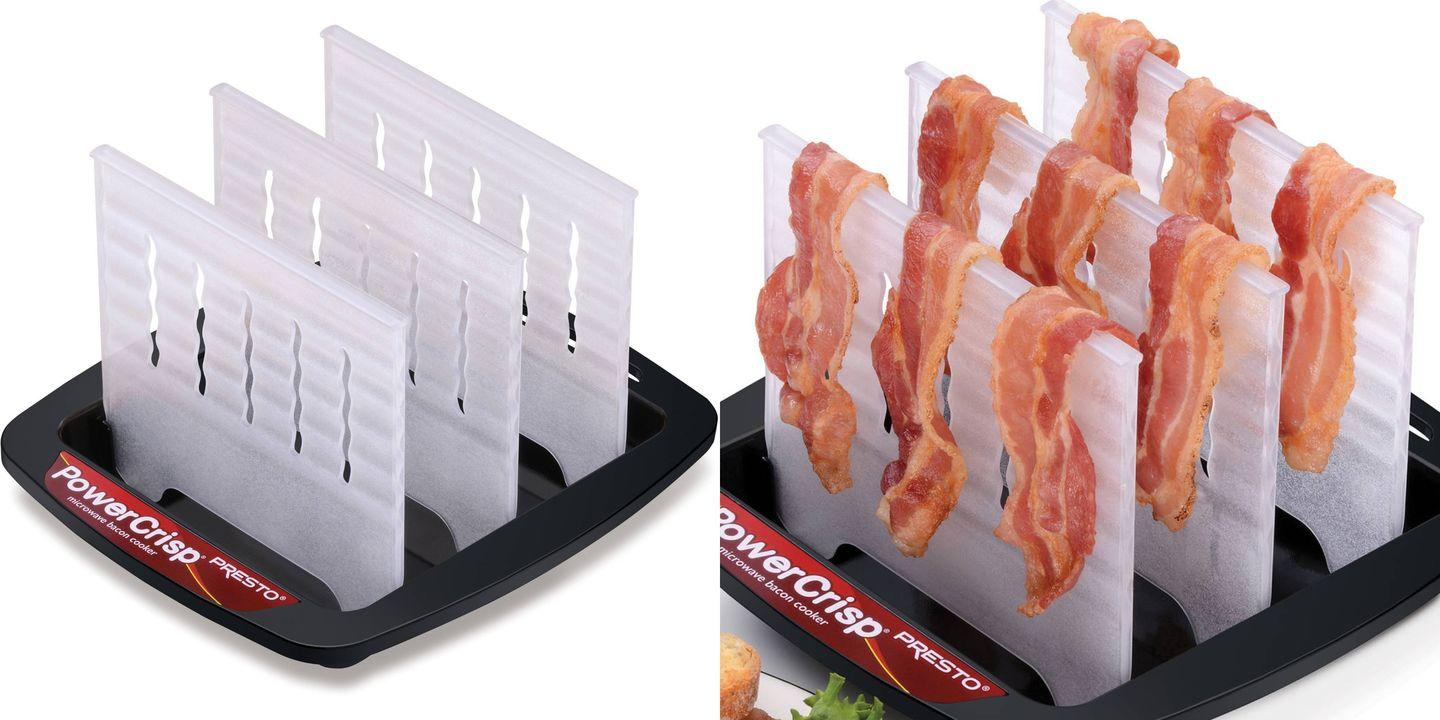 How to cook bacon in the microwave in 3