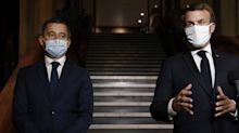 "Rayons de ""cuisine communautaire"" : Macron défend Darmanin"