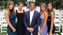 Stallone 'ameaça' pretendentes a genros e filhas lamentam: 'Solteiras para sempre'