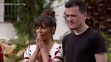'She stabs you in the back!': Charlotte Crosby hits back at Roxanne Pallett on Celebrity Coach Trip