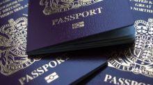 Blue Brexit Passport Blow Drives Down Shares in U.K.'s De La Rue