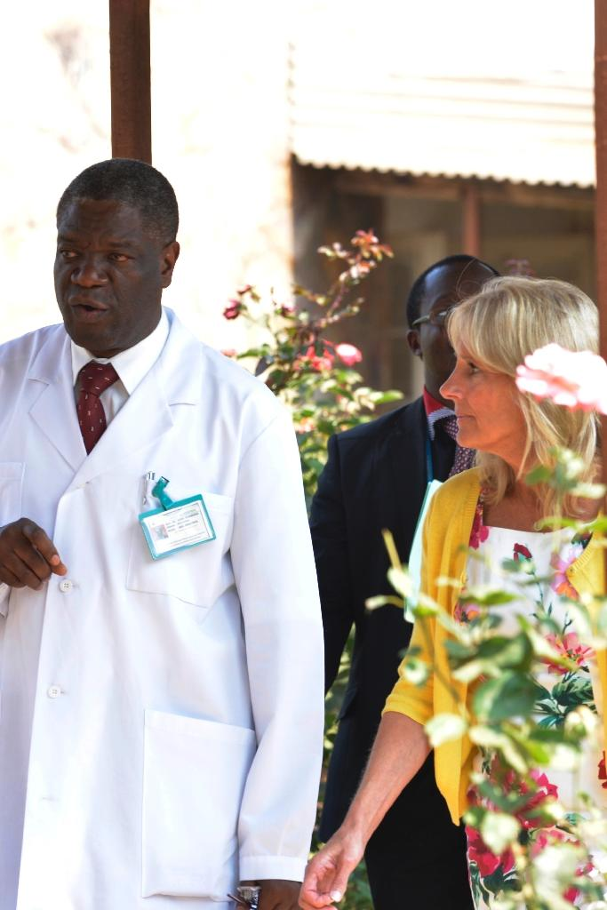 Denis Mukwege set up the Panzi Hospital in eastern DR Congo in 1999 (AFP Photo/Junior D. Kannah)