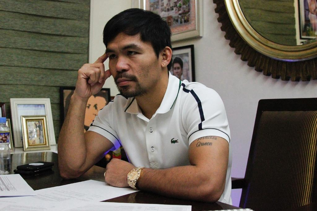 Manny Pacquiao defends restoring the death penalty in the Philippines