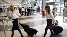 68 percent of flight attendants say they have experienced sexual harassment on the job