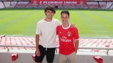 Hugo, irmão de João Félix, assina primeiro contrato profissional com o Benfica