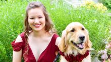 This Awesome Teen Took Her Service Dog to Prom