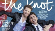 'Mean Girls' star Jonathan Bennett makes LGBTQ history on wedding magazine cover: 'Pure pride and joy'