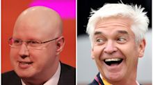 Matt Lucas makes Gordon the Gopher joke as he pays tribute to Phillip Schofield
