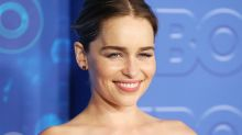 'Game of Thrones' star Emilia Clarke channels Khaleesi and dyes her hair blonde