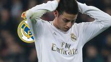 Real Madrid, James Rodriguez encore oublié par Zidane