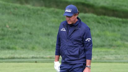 Phil was at his worst in this U.S. Open
